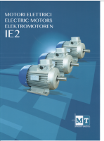 MT Electric Motors IE2 Catalog