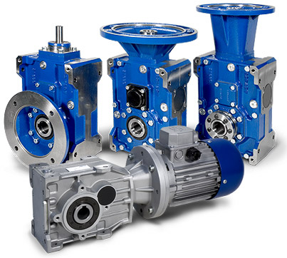 Tramec T-Series Bevel-Helical Gearboxes